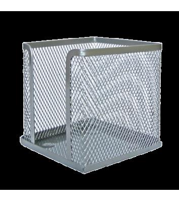 Підставка для паперу металева срібляста, Optima