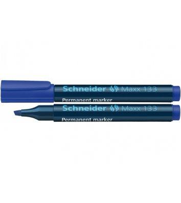 Маркер перманентний Maxx 130, колір чорнил синій 1-3мм, Schneider
