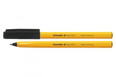Ручка шариковая Tops 505 F, цвет чернил черный 0,5мм, Schneider