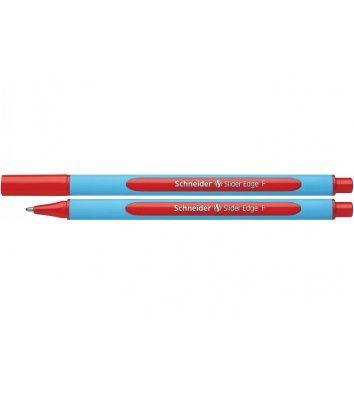 Ручка масляная Slider Edge F, цвет чернил красный 0,5мм, Schneider