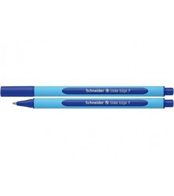 Ручка масляная Slider Edge F, цвет чернил синий 0,5мм, Schneider