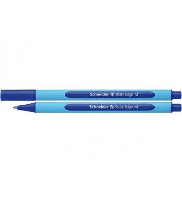 Ручка масляна Slider Edge М, колір чорнил синій 0,7мм, Schneider
