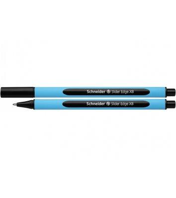 Ручка масляна Slider Edge XB, колір чорнил чорний 1мм, Schneider