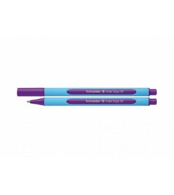 Ручка масляная Slider Edge XB, цвет чернил фиолетовый, Schneider
