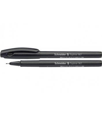 Лайнер Topliner 967, колір чорнил чорний 0,4мм, Schneider
