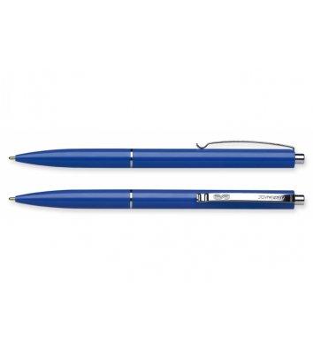 Ручка шариковая автоматическая К15, корпус синий, цвет чернил синий 0,7мм, Schneider
