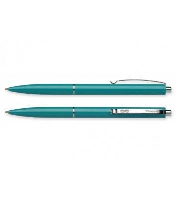 Ручка шариковая автоматическая К15, корпус бирюзовый, цвет чернил синий 0,7мм, Schneider