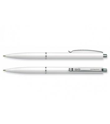 Ручка шариковая автоматическая К15, корпус белый, цвет чернил синий 0,7мм, Schneider