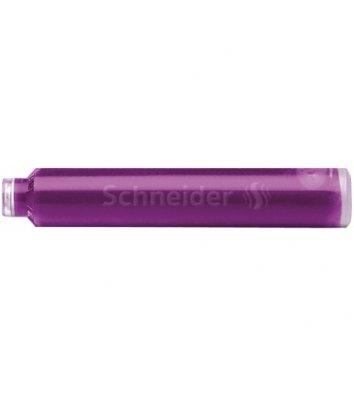 Патрон до перової ручки колір чорнил фіолетовий, Schneider