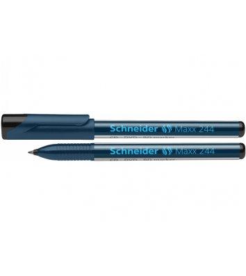 Маркер для CD/DVD Maxx 244, колір чорнил чорний 0,7 мм, Schneider