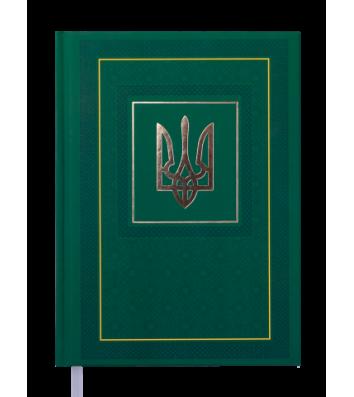 Ежедневник недатированный A5 Nation зеленый, Buromax