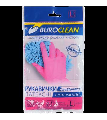 Перчатки хозяйственные суперпрочные L, Buroclean