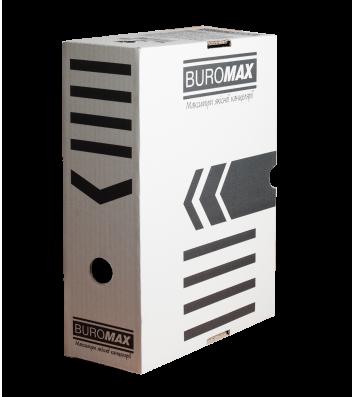 Бокс архивный 100мм белый, Buromax