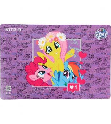 """Килимок для дитячої творчості  А3 пластиковий """"My Little Pony"""", Kite"""