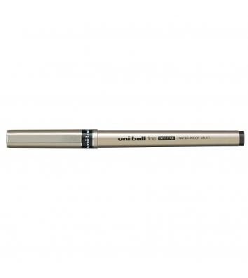 Роллер Deluxe, цвет чернил черный 0,7мм, Uni