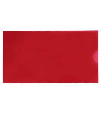 Папка-конверт E65 пластикова червона, Economix