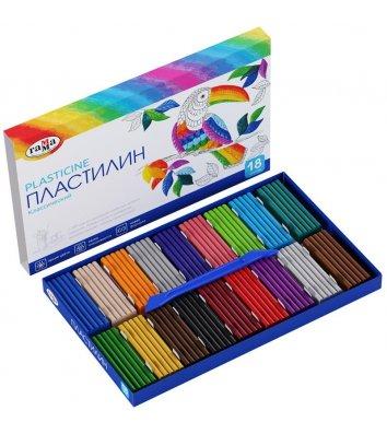 "Пластилин 18 цветов 360г ""Классический"", Гамма"