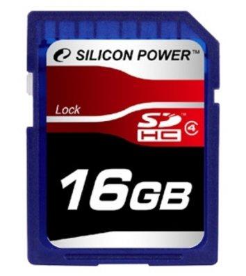 Карта пам'яті 16GB Silicon Power SDHC Class 4