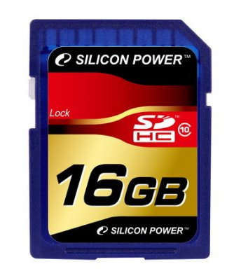Карта пам'яті 16GB Silicon Power SDHC Class 10