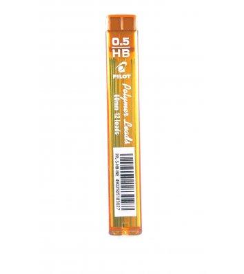 Стрижні до механічного олівця HB 0,5мм 12шт, Pilot