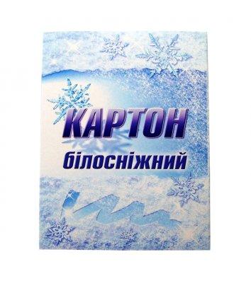 """Картон белый А5 10л """"Белоснежный"""", Лунапак"""