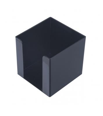 Підставка для паперу пластикова чорна, Arnika