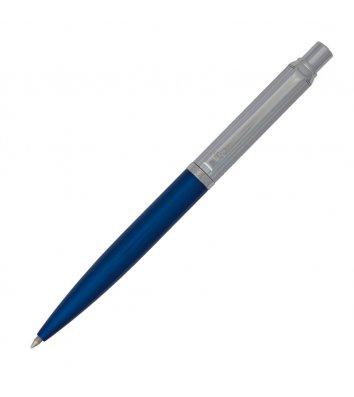 Ручка кулькова, корпус синій з хромом, Regal