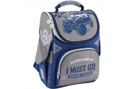 Рюкзак каркасный школьный GoPack, Kite