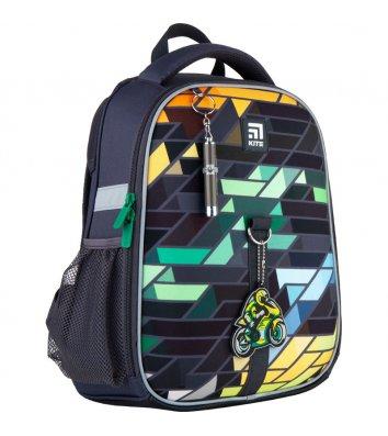 Рюкзак каркасний шкільний Monster Truck GoPack, Kite