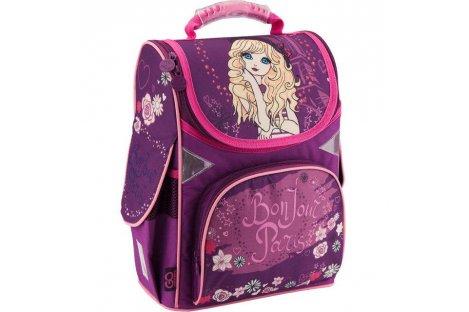 Рюкзак каркасный школьный Girl GoPack, Kite