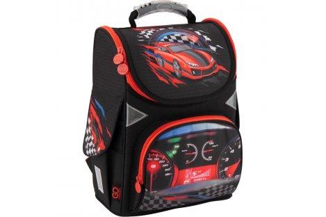Рюкзак каркасний шкільний Racing Gopack, Kite