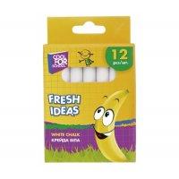 """Крейда шкільна біла  12шт """"Fresh Ideas"""", Cool for School"""