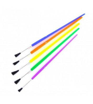 Кисточка для рисования синтетическая, цвет ассорти, Cool for School