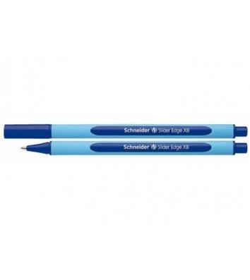 Ручка масляна Slider Edge XB, колір чорнил синій 1мм, Schneider