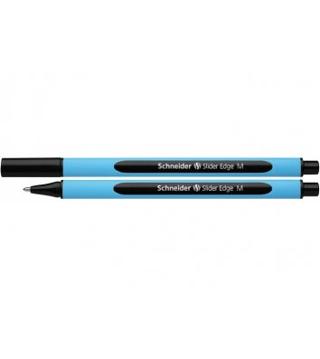 Ручка масляна Slider Edge М, колір чорнил чорний 0,7мм, Schneider