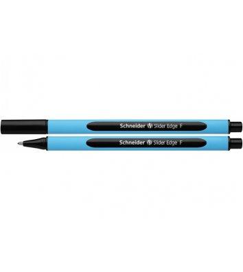 Ручка масляна Slider Edge F, колір чорнил чорний 0,5мм, Schneider