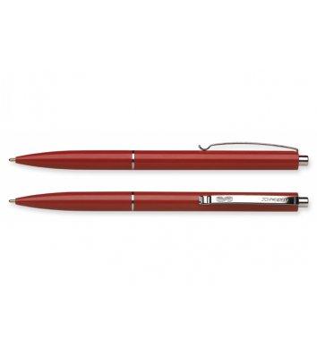 Ручка шариковая автоматическая К15, корпус красный, цвет чернил синий 0,7мм, Schneider