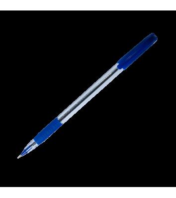 Ручка масляная Slide Grip, цвет чернил синий 0,5мм, Buromax