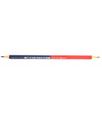 Олівець графітний HB червоно-синій, Optima