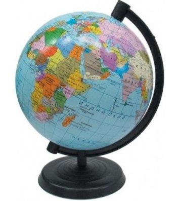 Глобус d26см Політичний з підсвічуванням