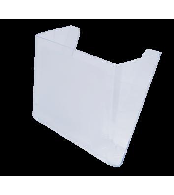 Лоток настінний пластиковий прозорий, Arnika