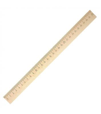 Лінійка 30см дерев'яна