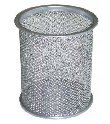Підставка канцелярська металева срібляста, Optima