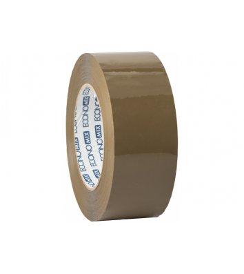 Скотч 48мм*200м упаковочный коричневый, Economix