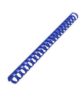 Пружини для брошурування 19мм 100шт пластикові сині, DA