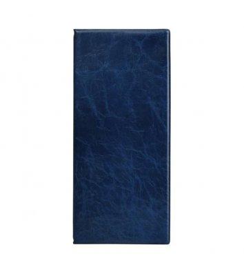 Візитниця на 80 візиток синя, Axent