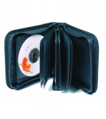 Сумка для 24 CD чорна, Optima