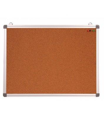 Доска пробковая 30*45см, рамка алюминиевая, Optima