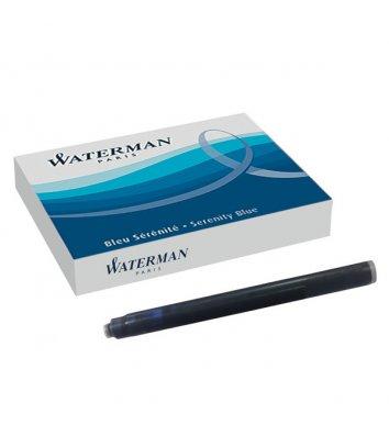 Картриджі Waterman 8шт сині