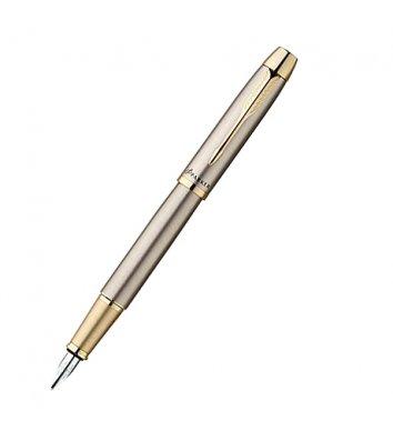 Ручка перьевая Parker IM Brushed Metal GT FP